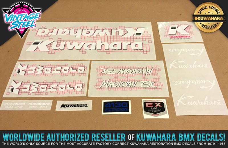 Magician Ishiwata EX 4130 BMX /& Bicycle Decal Sticker Factory Correct Bravo
