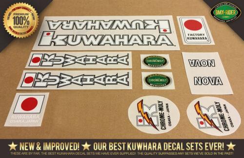 Factory Correct Kuwahara Nova Decal Set 1983-1985
