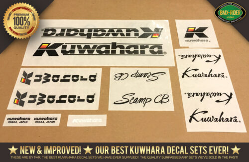 Factory Correct Kuwahara Scamp BMX Decal Stickers