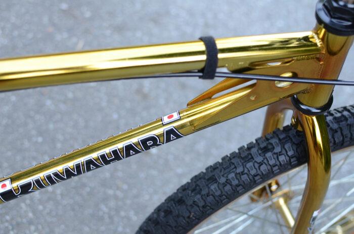 1983 Kuwahara KYZ Gold Edition Vintage Old School BMX