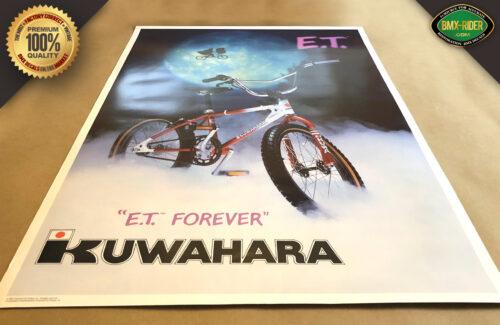 Replica Kuwahara ET BMX Poster
